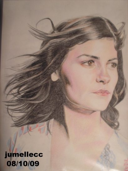 Audrey Tautou by jumellecc